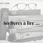 60 livres à lire