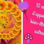 10 manières d'apporter du bien-être aux autres