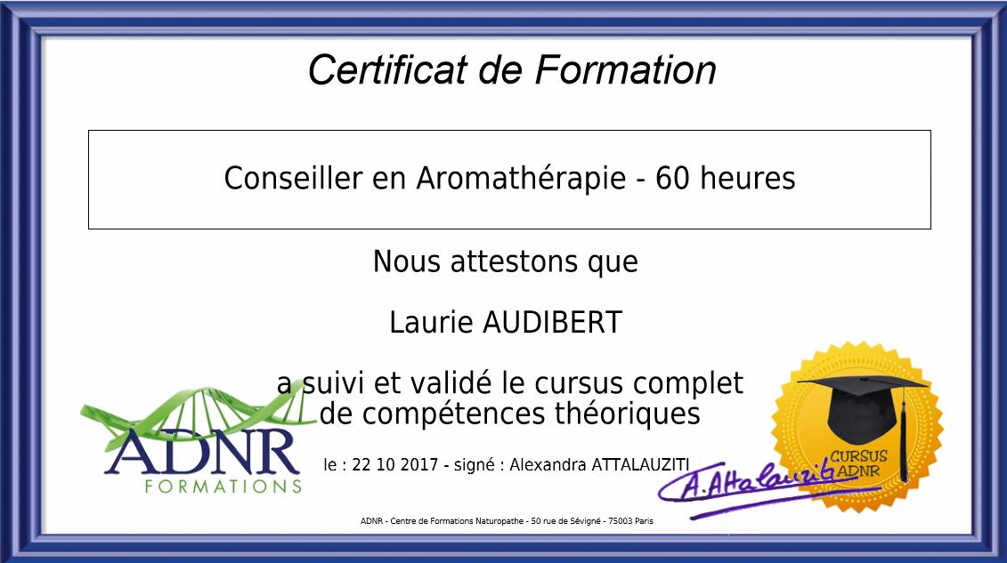 Conseillère en aromathérapie / Laurie Audibert / Coach holistique