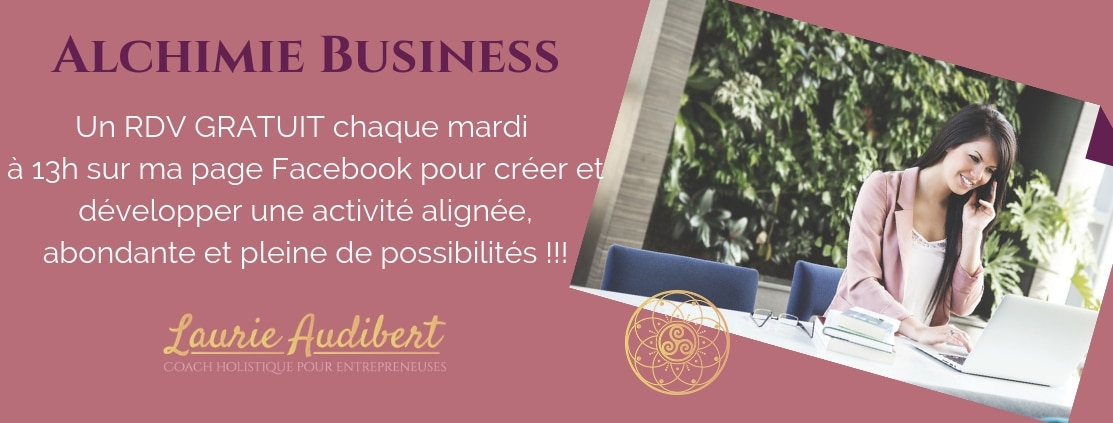 Alchimie Business / Laurie Audibert / Coach holistique