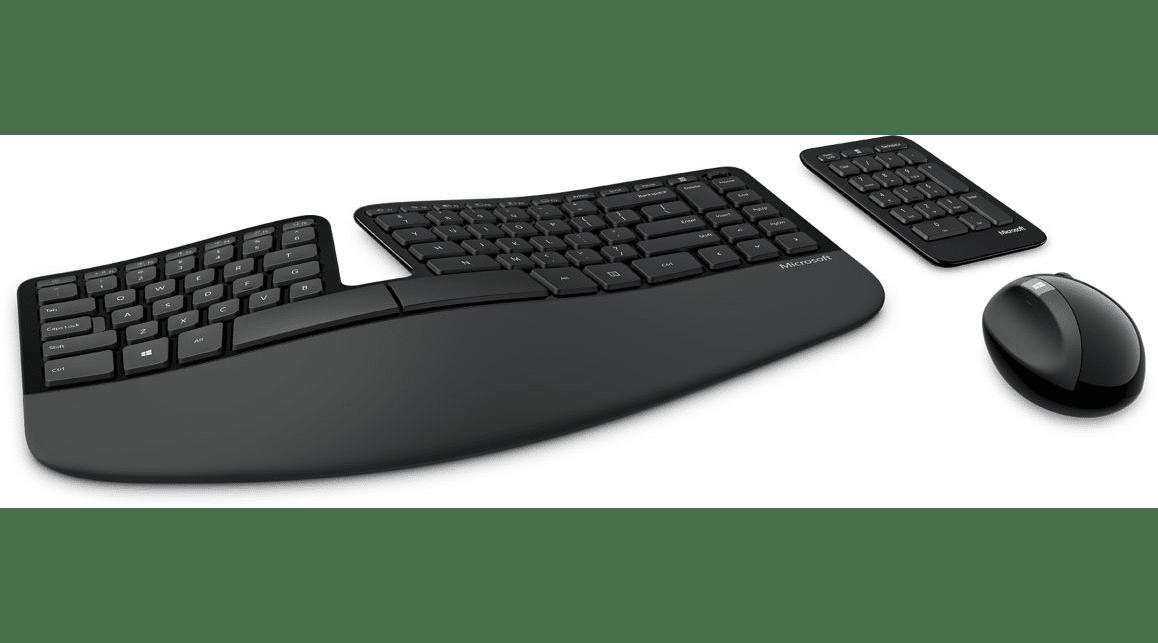 Clavier ergonomique / Cadeau de Noël pour chef d'entreprise