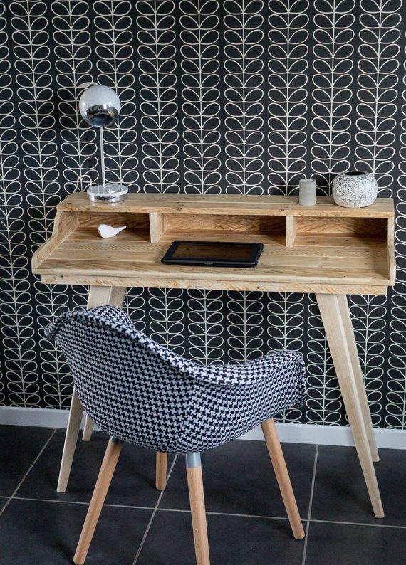 Bureau en bois recyclé / Laurie Audibert