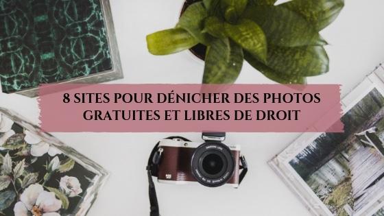 8 sites pour dénicher des photos gratuites et libres de droit / Laurie Audibert / Coach Holistique en Entrepreneuriat Féminin
