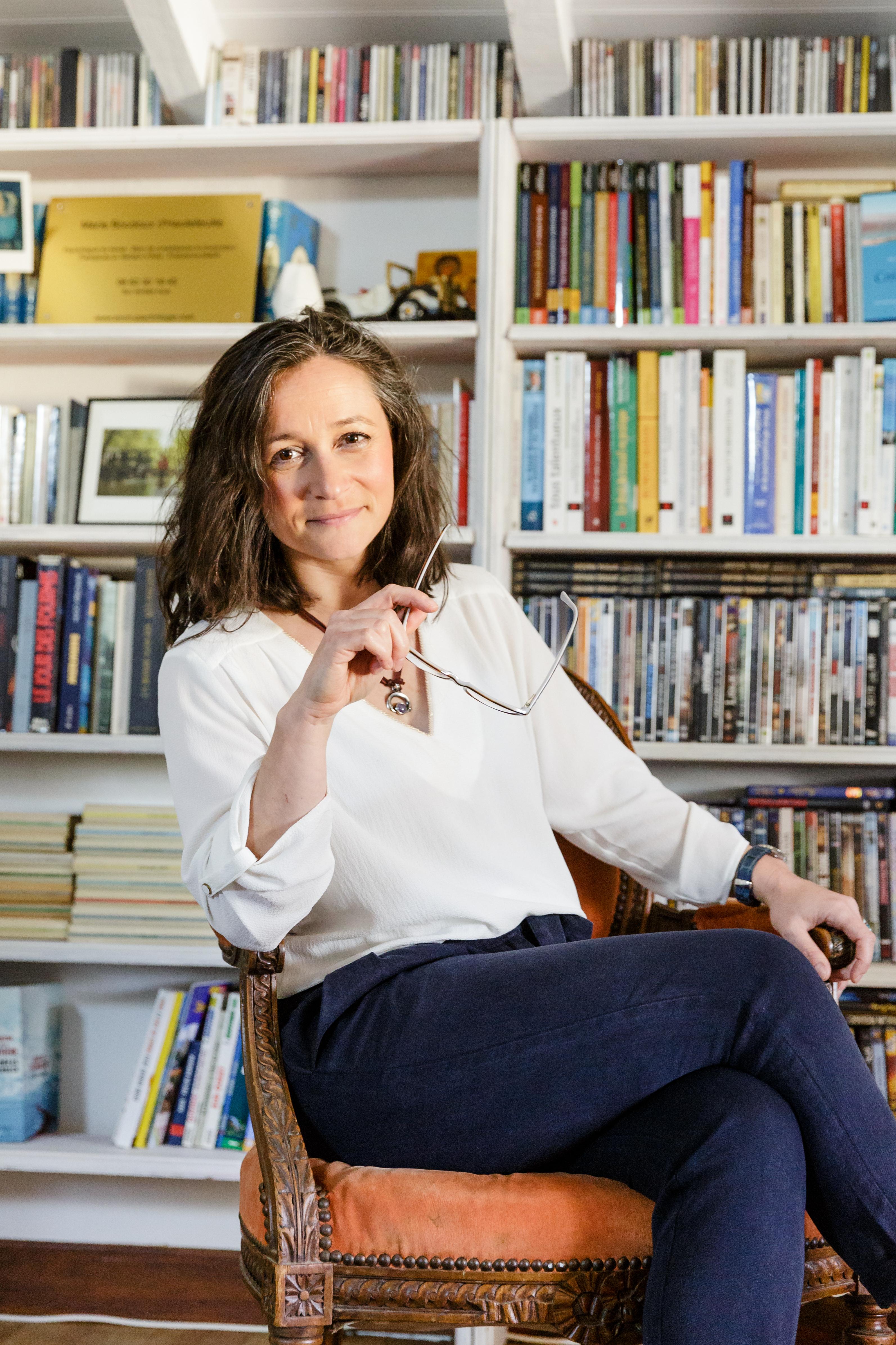 Marie Boudoux d'Hautefeuille / Psychologue et auteure