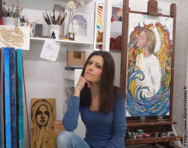 Diane Rousseau / Artiste peinte et accompagnante en créativité