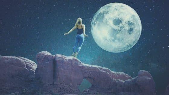 Pleine Lune _ 3 rituels magiques pour développer votre entreprise / Laurie Audibert / Coach Entrepreneuses Spirituelles