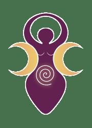 Triple Déesse sur fond coloré - Petite / Laurie Audibert / Business Coach en Entrepreneuriat féminin