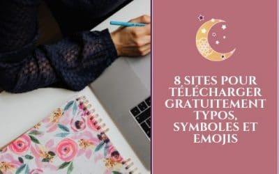 8 sites pour télécharger gratuitement typos, symboles et emojis
