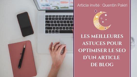 Les meilleures astuces pour optimiser le SEO d'un article de blog