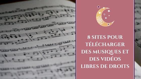 8 sites pour télécharger des musiques et des vidéos libres de droits