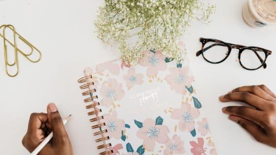 Questions pour remplir votre journal d'entrepreneuse / Laurie Audibert, Business Coach pour Entrepreneuses Spirituelles